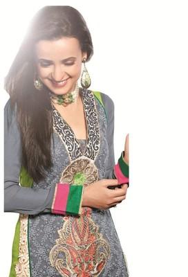 semi stitch salwar kameez
