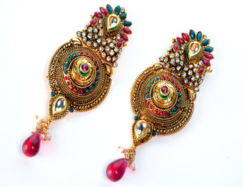 Traditional Bridal Earring