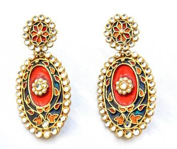 Traditional Multicolor Earrings