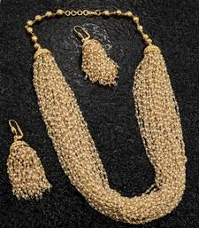 Buy Traditional Temple Necklace Set south-indian-jewellery online