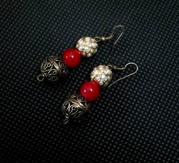 Cute Tricolor earrings