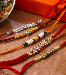 Buy Diamond rakhi combo fashion-deal online