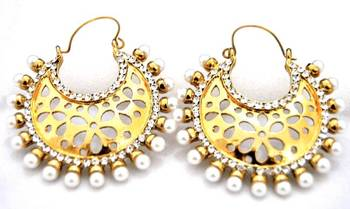 Gold Plated Chand Balis