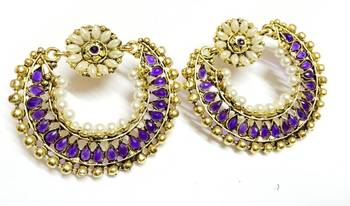 Beautiful Ethnic Earrings Craftstages