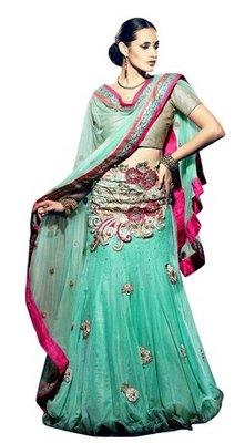 Triveni Magnificent Embroidered Wedding Lehanga Choli 105