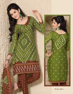 Triveni Pretty Casual Printed Cotton Salwar Kameez TSSTSK1011