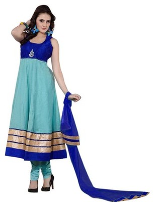 Triveni Amazing Broad Bordered Readymade Salwar Kameez TSSTSK102
