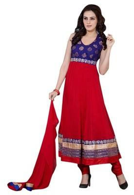 Triveni Glorious Faux Georgette Redymade Salwar Suit TSSTSK110