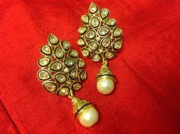 kanchana Kundan Earrings