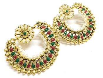 Craftstages Beautiful Ethnic Earrings2