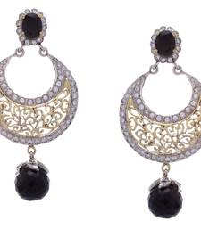 ANTIQUE VICTORIAN BLACK PEARLS CHAND BALI  shop online