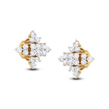 Cubic Zirconia Sterling Silver Mohini Earring