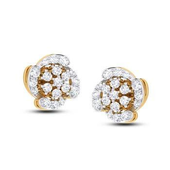 Cubic Zirconia Sterling Silver Rekha Earring