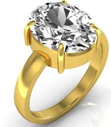 Zircon 4.8 Cts Or 5.25 Ratti Zircon Ring