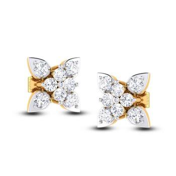 Cubic Zirconia Sterling Silver Sandvi Earring