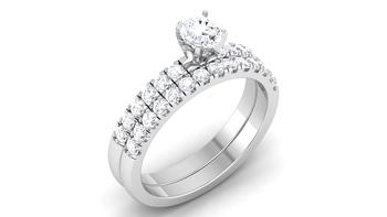 Signity Sterling Silver Mayuri Ring