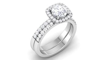 Signity Sterling Silver Pradnya Ring