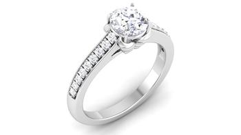 Signity Sterling Silver Janavi Ring