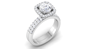 Signity Sterling Silver Nitisha Ring