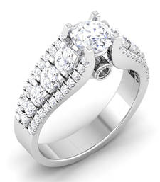 Signity Sterling Silver Bhopal Ring