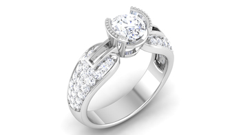 Signity Sterling Silver Rajastan Ring