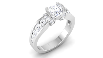 Signity Sterling Silver Raipur Ring