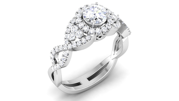 Signity Sterling Silver Tamilnadu Ring