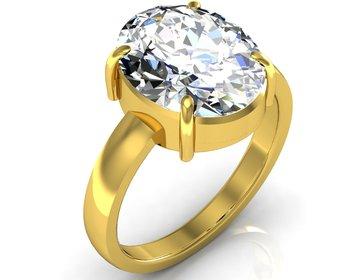 Isphetic 3.0 Cts Or 3.25 Ratti  Isphetic Ring