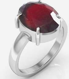 Buy Hessonite 4.8 cts or 5.25 ratti Garnet Ring Ring online