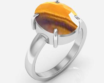 Quartz 7.5 Cts Or 8.25 Ratti Quartz Ring