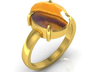 Quartz 6.5 Cts Or 7.25 Ratti Quartz Ring
