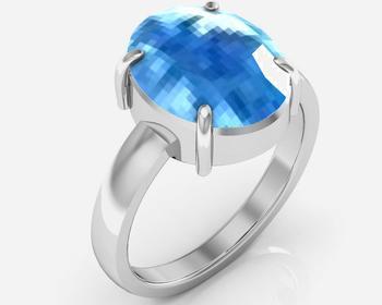 Blue Topaz Ratti Blue Topaz Ring