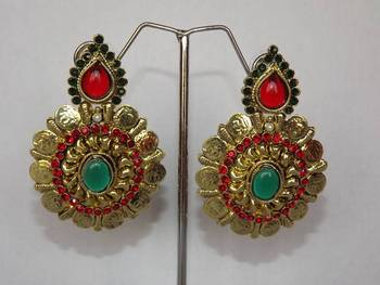 Golden Ginni Earrings