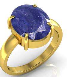 Buy Neelam 8.3 cts or 9.25 ratti Blue Sapphire Ring wedding-ring online