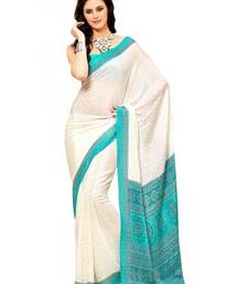 Buy crepe weaving silk crepe-saree online