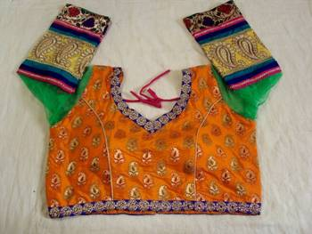 ReadyMade Long Sleeve Blouse 3 - Sonakshi Style
