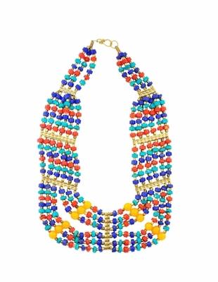 The Multicolored Banjara Necklace