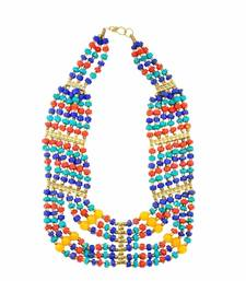 Buy The Multicolored Banjara Necklace Necklace online