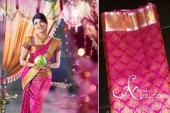 Buy Kanchipuram Silk Sarees Online