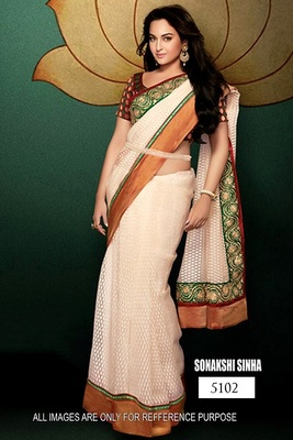 Brasso saree with blouse