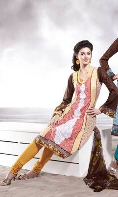 Cotton Embellished Salwar kameez Dress Material SC8139B