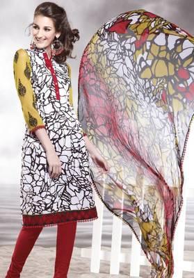 Cotton Embellished Salwar kameez Dress Material SC8143C
