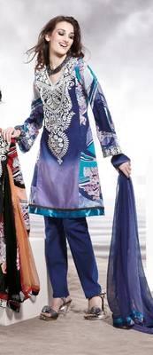 Cotton Embellished Salwar kameez Dress Material SC8144C