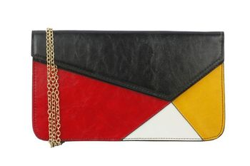 WAY COLOUR BLOCKING CLUTCH - By Dealtz Fashion