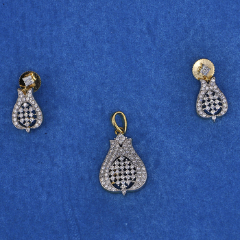 Amazing Diamond Pendant Set