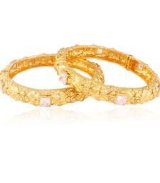 Buy Trending gold plated antique bangle bangles-and-bracelet online