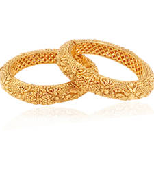 Buy Gorgeous choice gold plated antique bangle bangles-and-bracelet online