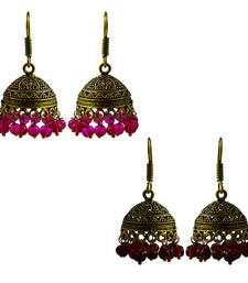 Buy Oxidized jhumki earring combo set jhumka online