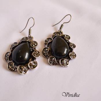 Stone Studded Stylish Earrings