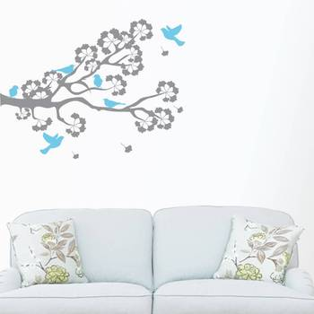 Happiness Birds On A Branc- wall art